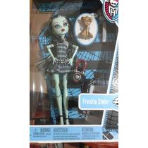 Boneca Frankie Stein Monster High Dia Do Arrepio