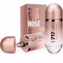Perfume Feminino 212 Vip Rosé Carolina Herrera 100% Original