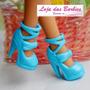 Sapatinho Fashion Para Boneca Barbie * Sapato Luxo Mattel