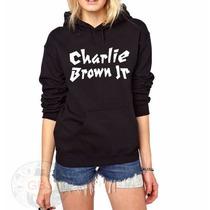 Blusa Charlie Brown Jr Moletom Canguru!!!