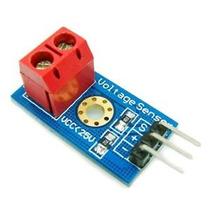 Sensor Tensao 0-25v Dc Arduino Pronta Entrega