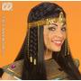Traje Egípcio - Cleopatra Frisada Mantilha Fancy Dress