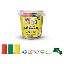 Kit De Massinhas - Art Kids Acrilex Nº1 - Brinq Educativo