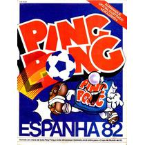 Álbum De Figurinhas Digitalizado Copa Do Mundo 82 Ping Pong