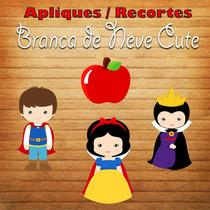 Aplique / Recorte - Branca De Neve Cute