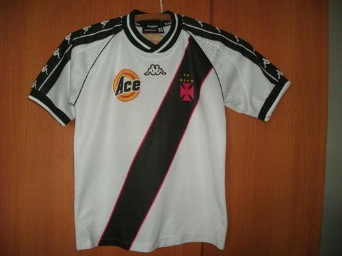 Camisa Vasco Da Gama ( Kappa   Branca   Infantil ) 4084d78e8b68b