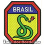 Patch Bordado Feb Brasil A Cobra Vai Fumar Militar Mlt22