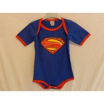 Bore De Bebê Super Homem (bori, Body - Infantil)