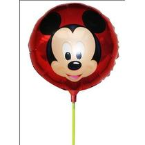 Balão Mickey 8.5 Polegadas 20pç Com Vareta