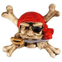 Pirata Do Caribe - Ossos Cruzados - Quadro