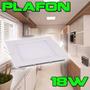 Kit 10 Painel Plafon Led 18w Embutir Quadrado. Loja Fisica