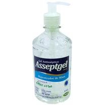 Álcool Gel 70% Asseptgel Cristal 440ml Antiséptico