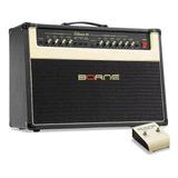 Amplificador Borne Evidence 100 100w Preto E Dourado 110v/220v