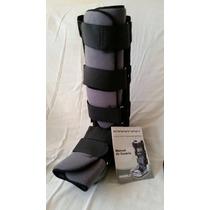 Bota Ortopédica Bilateral - Tamanho M - Robofoot Cinza
