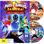 Dvd Power Ranger Samurai - Completo