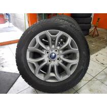 Roda Ecosport Aro 16 Com Pneu Pirelli 205/60/16 Atr Original