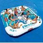 Ilha Flutuante Inflavel Fiesta Island Até 8 Pessoas +cooler