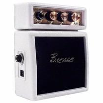 Mini Amplificador Para Guitarra Benson Am-2w - Branco