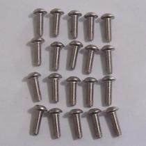 Pacote Com 20 Parafusos M5 X 15 Universal Para Carenagem
