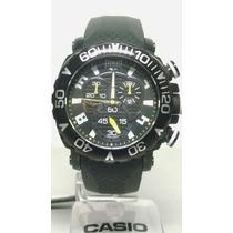 Relógio Everlast Cronógrafo Pulseira De Borracha E183