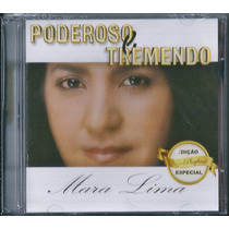 Cd Duplo Mara Lima - Poderoso E Tremendo [cd+playback]
