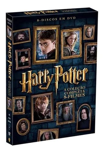 Dvd - Harry Potter - A Coleção Completa (8 Discos)