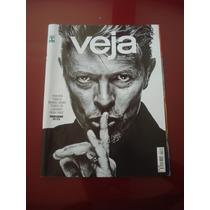 Revista Veja David Bowie Messi Donald Trump Ano 2016