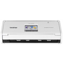 Scanner Compacto De Mesa Brother Ads1500w Branco Wireless C