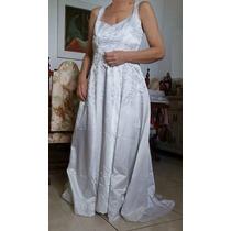 Vestido De Noiva Usado - Manequim 44