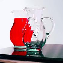 Jarra De Vidro 2 Litros P/suco,água Menor Preço Restaurante