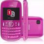 Celular Nokia Asha 200 Desbloqueado Rosa Vitrine Dual Chip