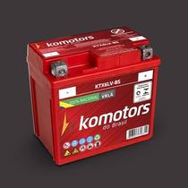 Bateria Komotors Fan 150/titan 150 Injecção Eletro 6 Amperes