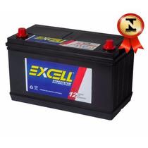 Bateria Automotiva Excell 125ah 12v Iso 9001 Caminhão Trator