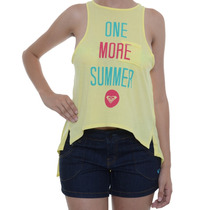 Blusa Feminina Roxy Regata One More Summer