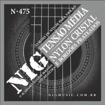 Encordoamento Nig Para Violão Nylon Cristal - N475