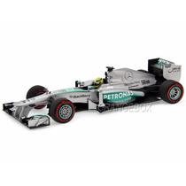 F1 Mercedes W04 Rosberg Monaco 13 Minichamps 1:18 110130109