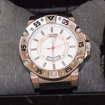 966c8f41e Relógio Chilli Beans Re.es.0035 Masculino Aço Analógico à venda em ...