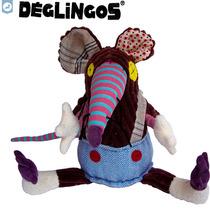 Rato De Pelucia Deglingos Ratos Ratinho Boneco Infantil