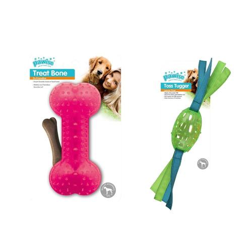 Kit 2 Brinquedos Mordedores P/ Cachorro Pawise
