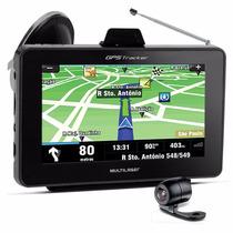 Gps Automotivo 7 Tv Digital Tracker Multilaser Com Camera Re