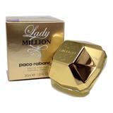 Perfume Lady Million Edp 30 Ml Produto 100% Original + Amostra.