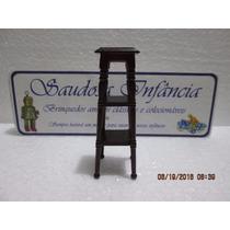 Banqueta Madeira Casinhas Bonecas Del Prado Oportunidade
