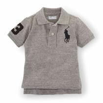 Camisa Polo Infantil Big Pony Ralph Lauren Importado