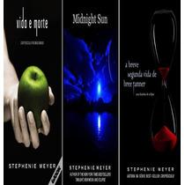 Novidade! 3 Novos Livros Da Saga Crepúsculo + Saga De Brinde