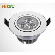Kit 10 Spot Super Led Direcionável 3w Alumínio Branco Quente