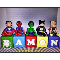 Cubos Super Herois Biscuit