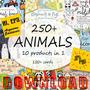 Pacote 250+ Imagens Vetoriais Editáveis De Animais Ai Eps10