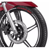 Friso Adesivo Refletivo Roda Tuning M2 Moto Honda Titan 160
