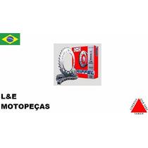 Kit Relacão Riffel Fan 125 2009 Em Diante(super Promocão)