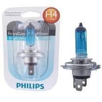 Lampada H4 Cristal Vision 4300k Super Branca 35/35w Philips